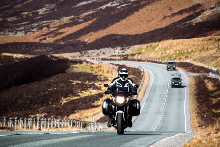 Moto touring the NC500